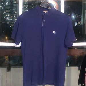 Authentic Burberry Button Up Polo
